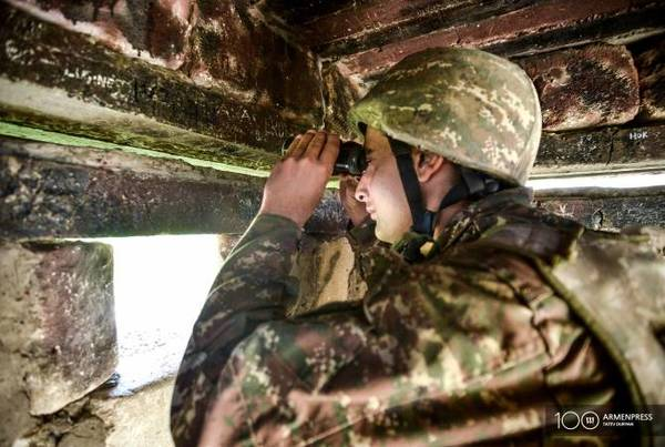 Armenian Armed Forces prevent Azerbaijan's engineering works in Yeraskh direction