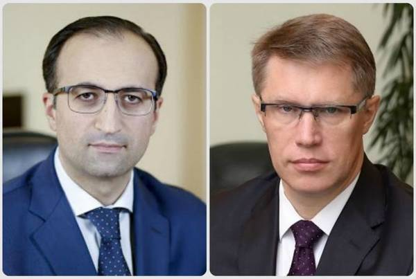 Министры здравоохранения Армении и России обсудили ситуацию с распространением коронавируса